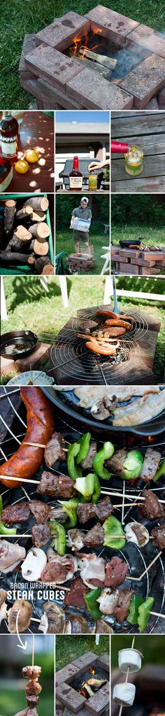 Weekend Projects: The Backyard Fire Pit Fire Pit Swings, Diy Fire Pit, Garden Fire Pit, Fire Pit Backyard, Cute Diy Projects, Weekend Projects, Stay Warm, Warm And Cozy, Victoria Day Weekend