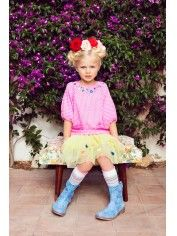 Official Mim-Pi Webshop for Girls Clothing High Fashion, Fashion Show, Fashion Kids, Pink Polka Dots, Girl Hairstyles, Harajuku, Baby Kids, Kids Outfits, Style Inspiration