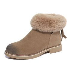 Fur Lining Ankle Warm Boots