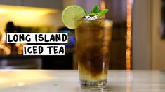 Long Island Iced Tea - Tipsy Bartender