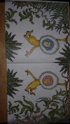 The Dr Seuss Colouring Book