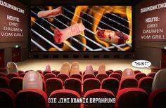 """""""Daumenkino. Heute: Drei Daumen vom Grill"""" // Die Jimi Kannix Erfahrung ### Daumen, Drei Damen vom Grill, Film, Kino,"""