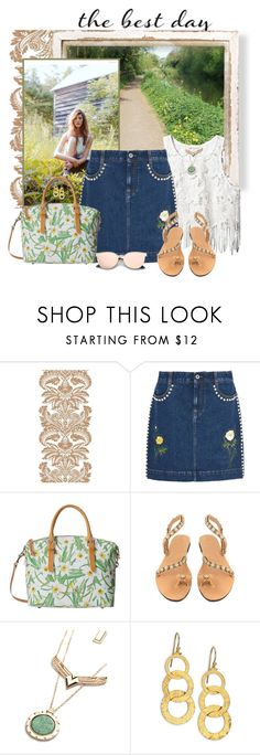 """""""Sit Among the Grass"""" by seafreak83 ❤ liked on Polyvore featuring STELLA McCARTNEY, Dooney & Bourke and Gurhan"""