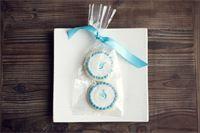 Monogrammed Sugar Cookies