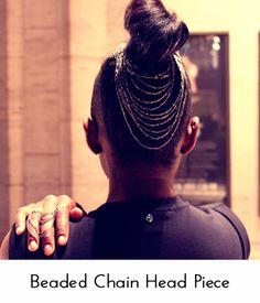 Hair Chain diy