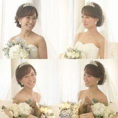 R.Y.K Vanilla EmuさんはInstagramを利用しています:「ヘアメイクの友人の結婚式 挙式スタイルは前髪 顔まわり、シルエットを 特に意識しました。 どの表情もとてもとても素敵で きれいでした! 他のスタイルもまた載せます(^^) #ヘア #ヘアメイク #ヘアアレンジ #結婚式 #結婚式ヘア #サロモ #東海プレ花嫁 #ウェディング…」 Wedding Flowers, Wedding Dresses, Bridal Hair, One Shoulder Wedding Dress, Wedding Hairstyles, Wedding Photos, Hair Beauty, Flower Girl Dresses, Bride