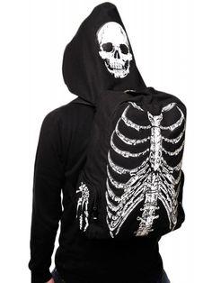 Banned Apparel Skeleton Backpack