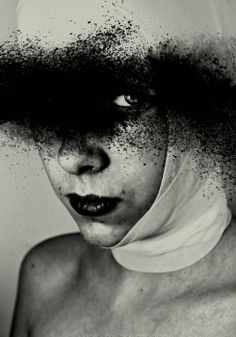 Dirty Look by Anja Millen Black And White Love, Hidden Face, Human Art, Photomontage, Color Negra, White Photography, Graphic Illustration, Painting & Drawing, Photo Art
