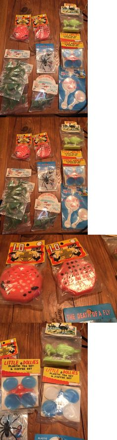 Novelty Vending Toys 51025: Lot 11 Novelty Store Toys Gags Party Favors Sealed In Original Packaging 1960S -> BUY IT NOW ONLY: $30 on eBay!