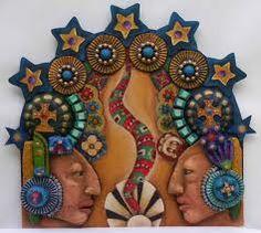 Mayan Twins -- pinned using BrowserBliss