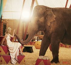 Reese Witherspoon for Vogue - Water for Elephants