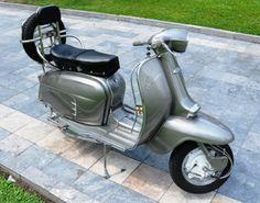 Lambretta scooter.