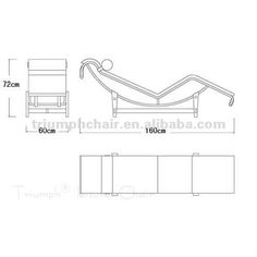 Image Result For Chaise Lounge Chair Lc4 | Le Corbusier La Chaise Chair LC4  Chaise Lounge | Pinterest | Chaise Lounges And Chaise Chair