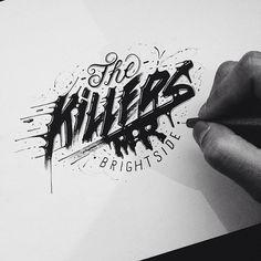 A découvrir aujourd'hui, les sublimes typographies de l'artiste basé à New-York : Raul Alejandro...