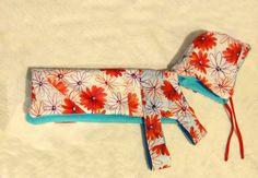 DIY_ broken umbrellas make great rain coats for dogs. no pattern- yet simple
