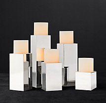 Kline Square Pillar Candle Holder
