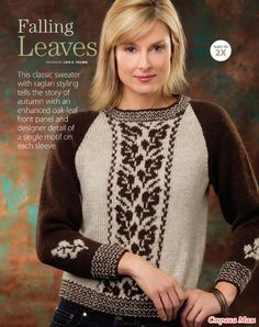 Классический свитер в двух цветах.