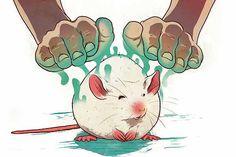Para entender los cambios biológicos del reiki, el psicobiólogo Ricardo Monezi probó el tratamiento en ratones con cáncer.
