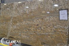 Mokoro Granite. Creams and beiges with some soft greyish blues and a slight amount of movement. Granite is a natural stone and can vary from slab to slab. Visit globalgranite.com or come in to see our current inventory!