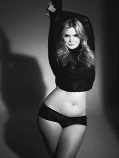 I like that this woman is toned but still soft looking and curvy. Inspiration!