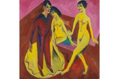 Exhibition explores the systematic and experimental path to colour that Ernst Ludwig Kirchner followed