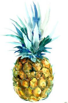 Pineapple Artwork by Suren Nersisyan