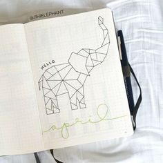 The Ultimate Bullet Journal Page Index | Jihi Elephant