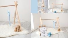 *Pre-order* Wooden Tepee Baby clothes hanger or Play gym