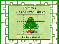 Christmas is an exciting time for children so a puzzle is great when they need some quiet time. This set of contains 32 pages of cut and paste Christmas puzzles. All the puzzles have a Christmas theme. There are Christmas trees, Christmas presents, Christmas bells, Christmas wreaths, and Christmas teddy bears to name a few. Students will enjoy these Christmas inspired puzzles.