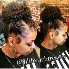 43 Cool Blonde Box Braids Hairstyles to Try - Hairstyles Trends Box Braids Hairstyles, Girl Hairstyles, Hair Afro, Bilage Hair, Braids For Black Hair, Braids In A Bun, Ghana Braids, Braid Hair, Braided Ponytail