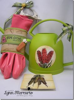 Creativity is blooming over at Waltzingmouse Stamps!