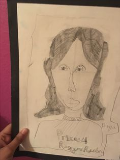 My first portrait I ever sketched!!! I was 10 years old when I did this!