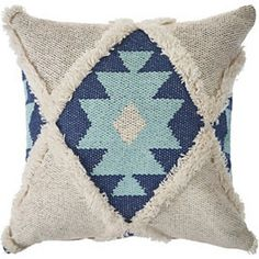 Emphasize warmth and coziness in your bedroom or living room with the LR Home Tufted Winter Paradise Throw Pillow . This square pillow features an Aztec. Dorm Pillows, Accent Pillows, Throw Pillows, Machine Wash Pillows, Aztec Designs, Cozy House, Accent Pieces, Fabric Design, Decorative Pillows
