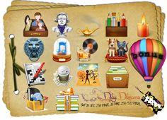 Daydreams Set: 12 Ico / Png  by AEONFLAX (Chiara Alchimia) La mia prima collezione di Icone, per voi free!!! In formato .Ico  da 256 pixel e .Png, dai 512 ai 256 di pixel. Potete usarle liberamente in Windows/Dock/Linux o per Qualsiasi Altro Vostro Progetto di grafica! Come sempre Live Inspired!!!!                                                                  Spero Siano di Vostro gusto!    BUONA   ARTE A TUTTI!