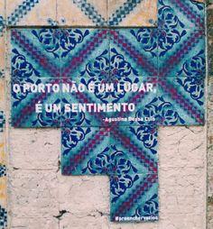 Preencher vazios | Porto | Rua da Cedofeita #Azulejo #PreencherVazios #ArteUrbana #StreetArt