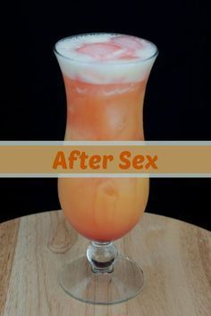 after sex, vodka, banana liqueur, orange juice, grenadine