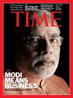 In India and Pakistan, TIME's cover features Gujarat Chief Minister Narendra Modi and writer Jyoti Thottam wonders if the leader has what it takes to become Prime Minister of India. (Photograph by Sumit Dayal for TIME)
