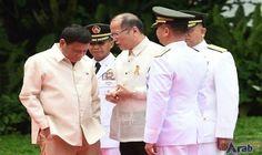 Duterte sworn in as the Philippines' 16th…: Authoritarian firebrand Rodrigo Duterte was sworn in as the Philippines' president on Thursday,…