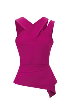 Designer ladies evening tops from Roland Mouret. Shop a wide range of stylish designs, including sleeveless, off the shoulder and asymmetrical tops in satin, viscose and velvet. Ladies Evening Tops, Short African Dresses, Mode Top, Fashion Details, Fashion Design, Vogue Fashion, Classy Dress, Mode Style, Western Wear
