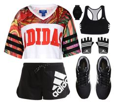 """""""LIKE TO BE ON MY TAGLIST"""" by carolinask8er ❤ liked on Polyvore featuring adidas Originals and adidas"""