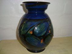 Kähler (Herman A. Kähler) vase. H: 18 cm D: 12 cm from 1910-20s. Signed HAK. #kahler #ceramics #pottery #hak #dansk #keramik #vase #danish. SOLGT/SOLD.