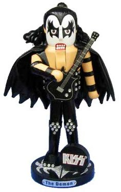 KISS Demon Gene Simmons Christmas Nutcracker