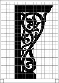 Wood Carving Designs, Stencil Designs, Simple Workbench Plans, Steel Fence Panels, Cow Skull Decor, Cnc Cutting Design, Ornament Template, B 13, Decorating With Pictures