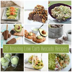 Avocado Recipes Roundup Collage
