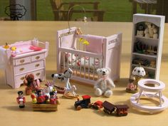 Miniature Dollhouse Children Room  Kit  Set Scale 112 by Minicler, €99.00