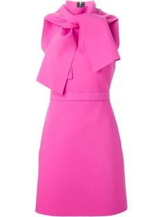 Shoppen MSGM Kleid mit Schleifenkragen von Gaudenzi aus den weltbesten Boutiquen bei farfetch.com/de. In 300 Boutiquen an einer Adresse shoppen.