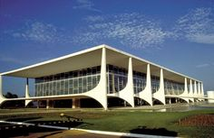 Palacio do Planalto - Oscar Niemeyer, Brasilia