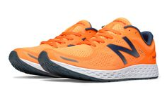 Fresh Foam Zante v2, Orange Pop with Grey