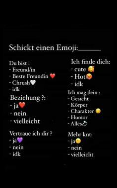 Schickt Mir Emoji Wa Vorlage Whatsapp Fragen 1