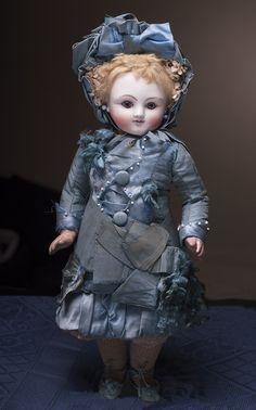 ОЧЕНЬ редкая кукла STEINER A-1, 34 см